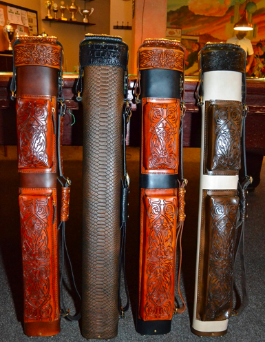 Volturi 2x4 tooled leather cue cases - Cue Sport LV  2014-05-04