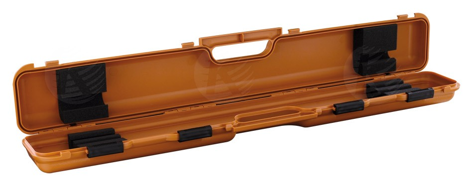 Longoni-shuttle-orange 1x2 cue case - Cue Sport LV