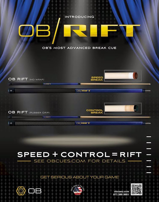OB Rift Break Cue - Cue Sport LV